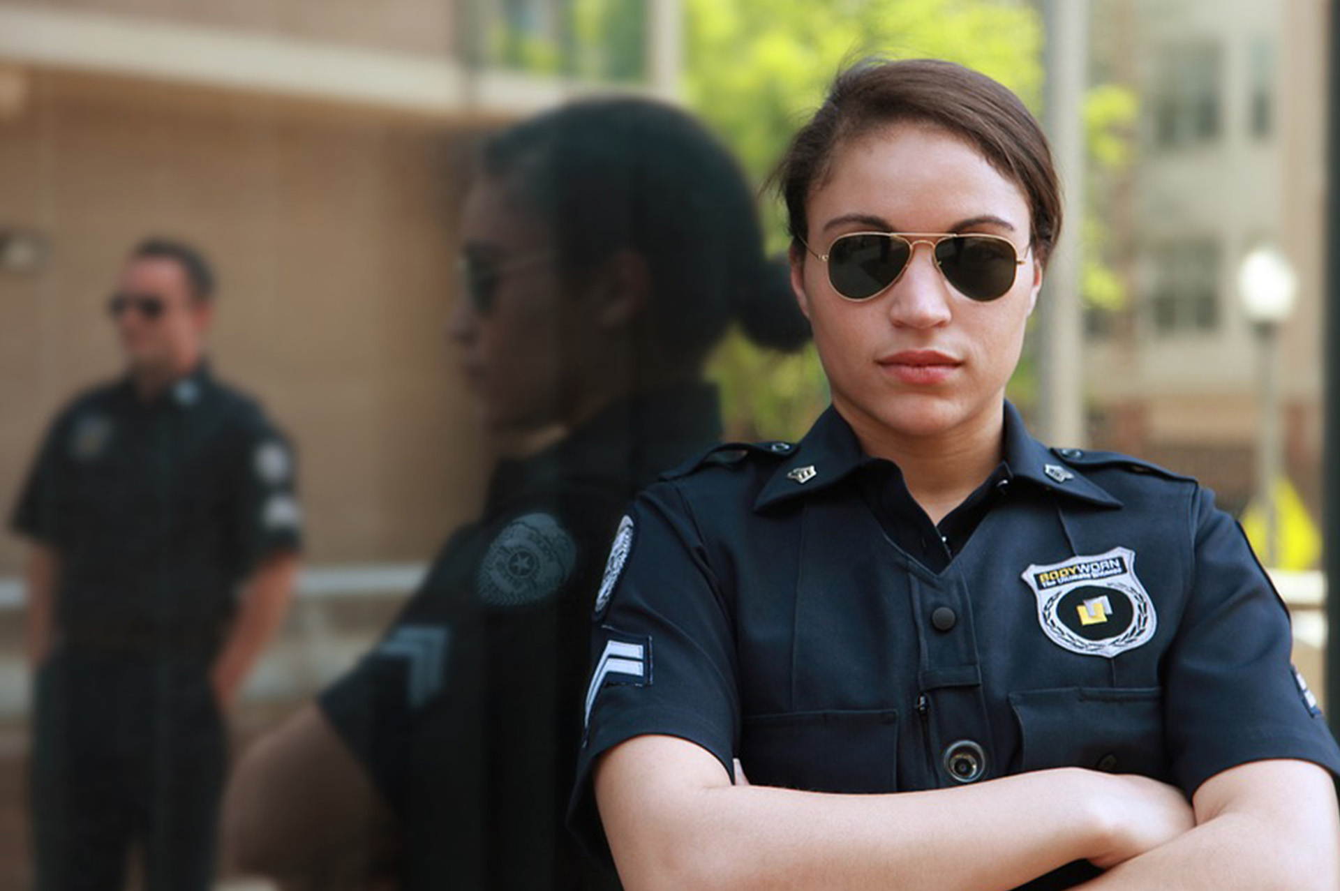 female unarmed security guard new york state 16 hour on the job training long island